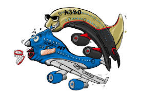 Boeing vs Airbus cartoon