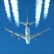 Om Bord På Flyvemaskinen