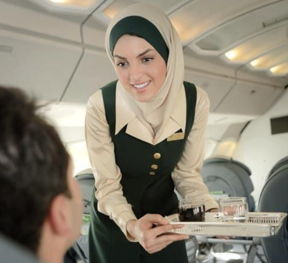 Må En Stewardesse/kabinepersonale Godt Bære Tørklæde ?