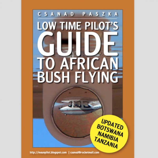 low time pilot's guide to african bush flying