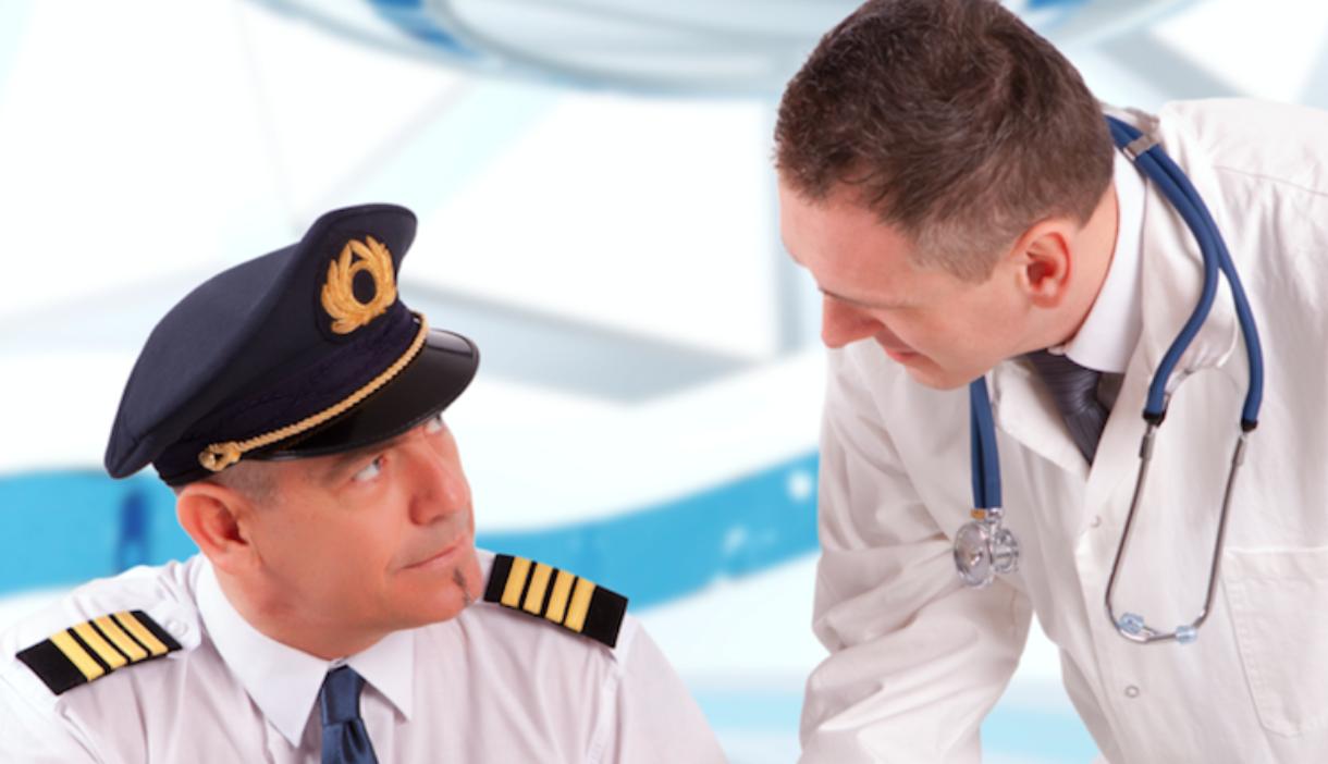 Hvor Ofte Bliver Piloter Tjekket Af En Læge Som Skal Vurdere Om Piloten Er Sund Og Rask? Tænker Feks På Syn, Hørelse Osv.