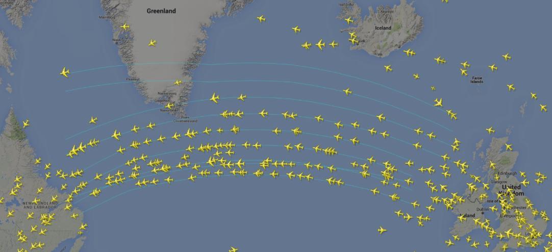 Hvorfor Flyver Man Over Grønland På En Tur Fra København Til New York? Er Det Ikke En Omvej?