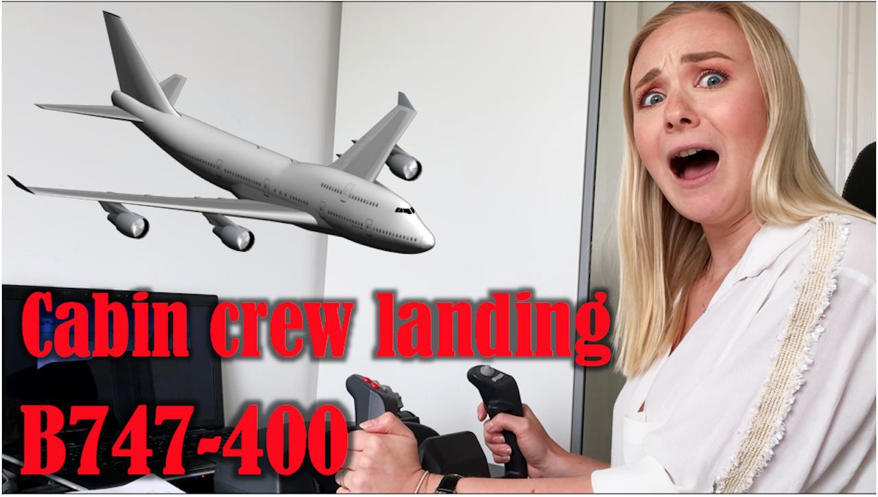 Kan Kabine Personalet Lande Flyet?